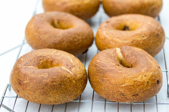 Sun-dried tomato and Italian seasoning Bagels